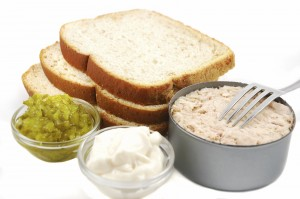 Tuna Sandwich Ingredients