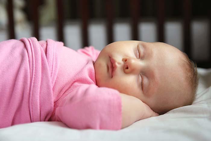 Baby In Cradle